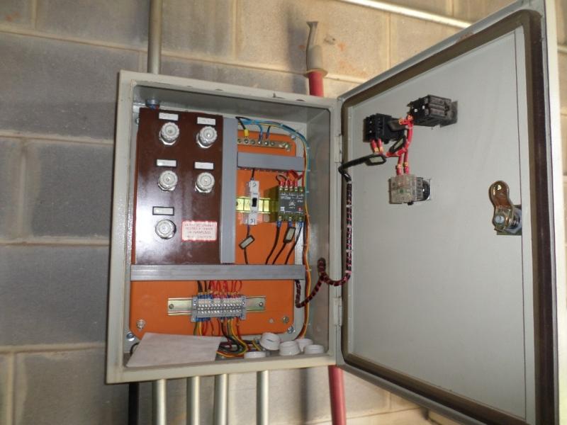 Automações das Redes Elétricas Zona Oeste - Automação Cabine Elétrica