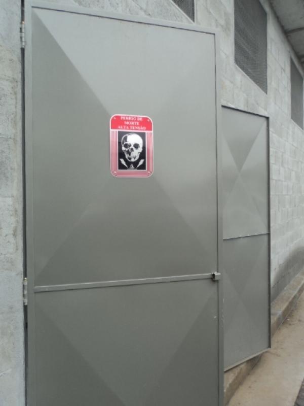 Cabine Primária Compacta Jardim Paulistano - Cabine de Força Primária