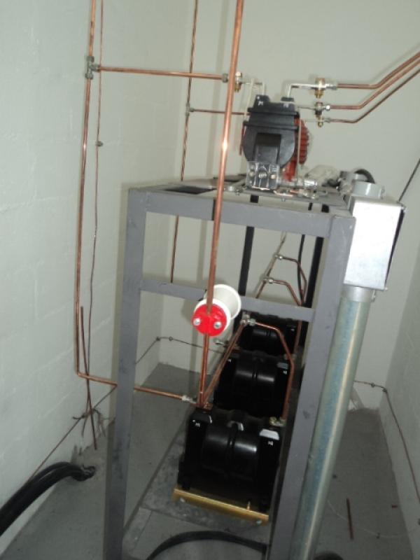 Cabine Primária de Energia Morumbi - Cabine Primária com Transformador