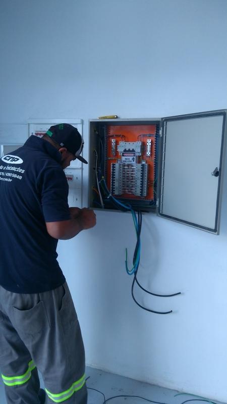 Empresa de Instalação Elétrica Industrial Ribeirão Pires - Instalação Predial Elétrica