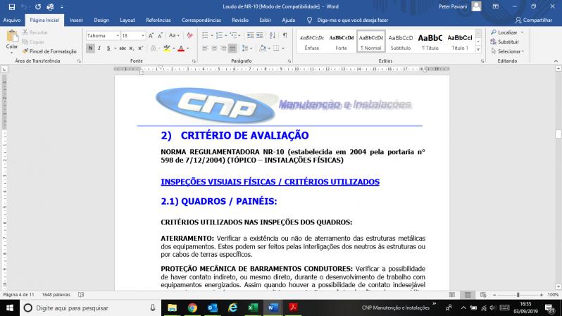 Empresa Que Faz Laudo Spda Periodicidade Campo Belo - Laudo de Spda Aterramento
