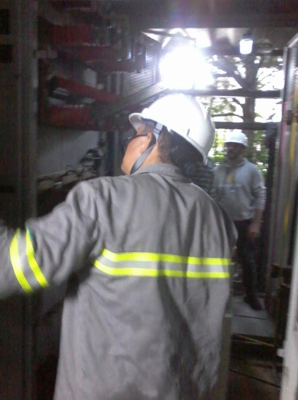 Instalação de Cabine Primária Manutenção Aclimação - Cabine Primária com Transformador