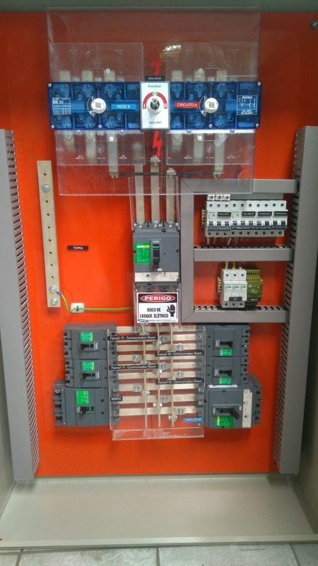 Instalação Instalação Elétrica Quadro de Energia São José do Rio Preto - Instalação Predial Elétrica