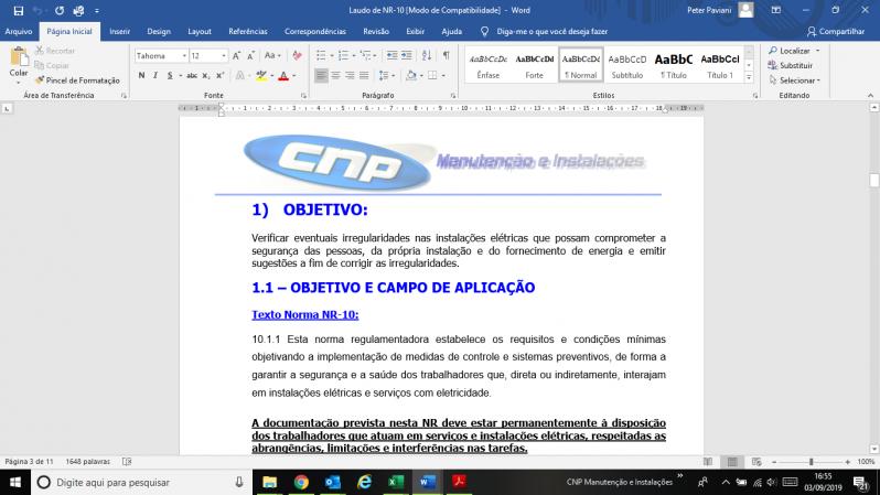 Laudo Spda Periodicidade Orçamento Tucuruvi - Laudo de Spda Aterramento