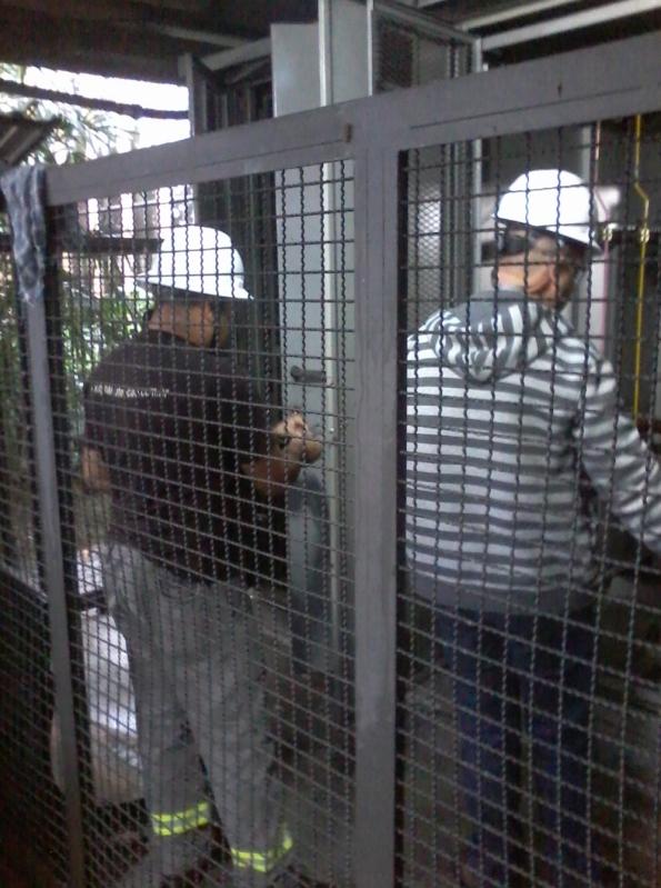 Montagem de Cabine Primária Manutenção Alto de Pinheiros - Cabine de Força Primária