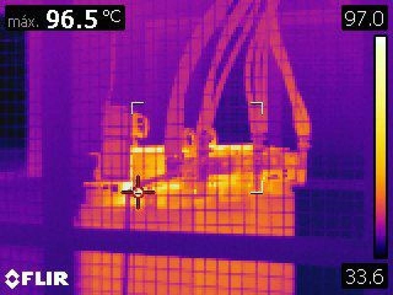Termografias Industriais Pacaembu - Termográfica Infravermelha