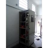 cabine primária com transformador