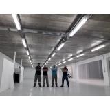 instalação instalação elétrica industrial Vila Romana
