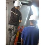 manutenção de rede elétrica