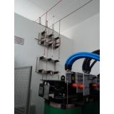 montagem de cabine primária com transformador Jaçanã