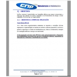 solicitação de laudo de instalações elétricas nr10 Cidade Dutra