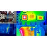termografias em quadros elétricos Marília
