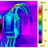 termográfica de quadros elétricos