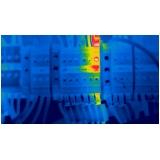 termográfica em edifícios